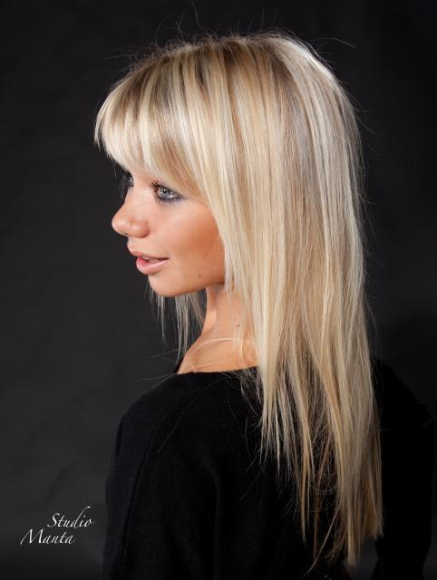 Hiusstudio Merinell   Hiukset: Pirjo/Elisa Me  Naisten kampaukset - pitkät hiukset kuvagalleriassa
